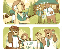 Cabin Fever Realty comic