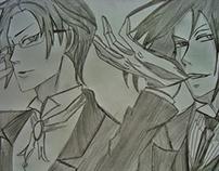 Sebastian e Klaude- Kuroshitsuji