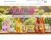 Italy Experience For Bath and Body Works