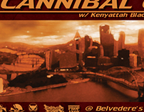 Cannibal Ox Pittsburgh Event Promo Materials