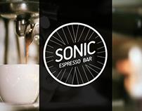 Sonic Espresso Bar - Brand & Identity