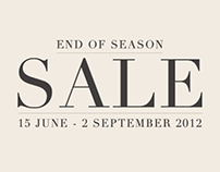 Niche Retailing Spring/Summer 2012 End of Season Sale