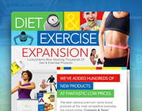 LuckyVitamin: digital promos for wellness store - 3