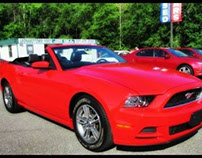2013 Ford Mustang Convertible, Leather, all for 10kless