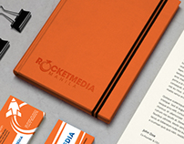 Rocketmedia Manila Corporate Identity