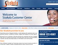 Sizakala website concept