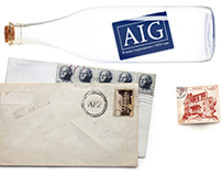 Advertising campaign for the insurance company AIG