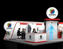 Wipro : Interop booth design