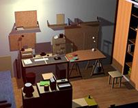 Room 3D modelling
