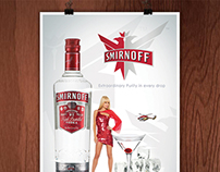 Smirnoff Red Poster concept