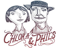 Chlora and Phil Logo