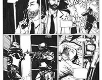GROM - comic book page
