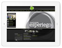 Diseño web Esperiego Food & Drink