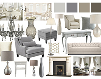 Living Room Mood Boards