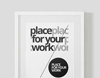 Frame For Your Work Mock-up