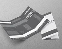 Tri-Fold US Standard Brochure Mock-up