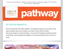 Email Newsletter Design - HBL