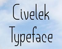 Civelek Typeface