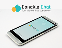 Bankcle Chat - { Conceptual UI/UX Modeling & Logo }