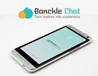 Bankcle Chat - { Conceptual UI/UX Modeling & Logo }