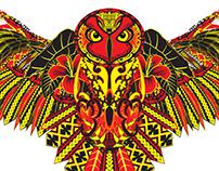 Owl (100% Vector)