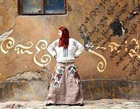 """Photoshoot for """"Do-Se. Hippie ver."""" skirt by """"Moksha"""""""