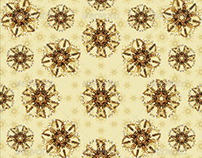 2 Floral Decorative Background Pattern