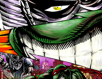Shredder Vs Raph TMNT