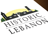 Historic Lebanon Logo Redesign