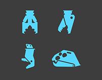 Noka AC | Machines Icons