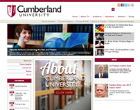 Cumberland University Website Redesign