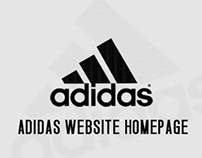 Adidas Website Homepage
