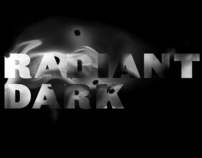 Radiant Dark design exhibition