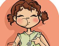 """""""Manual para la buena alimentación"""" PMA (ilustraciones)"""