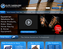 Equestrian Centre Website Design