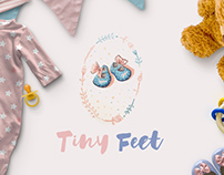 Tiny Feet - for sale! www.One-Giraphe.com