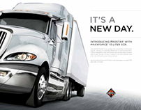 International Truck Print Ad