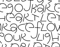 Typeface for Artwork -Subvert