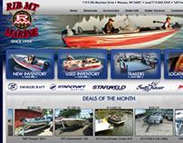 Rib Mt. Marine Website