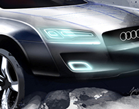 Audi Q9 Sketch Project