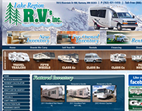 Lake Region RV Website Design