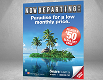 Sears Travel: Now Departing Campaign