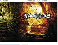 "Venomin James ""Crowe Valley Blues"" CD Package Layout"