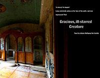 Gracious, ill-starred creature