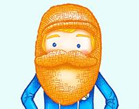 Child with beard
