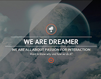 Dreamer - Photo & Video Parallax WordPress Theme