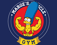 Marge´s Muscle Gym T-shirt
