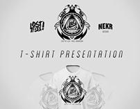 Presentation T-shirt - Visual Identity | Lost At Sea