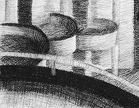 AART 305Y-Intermediate Drawing Day #7