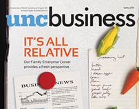 UNC Business Magazine iPad App